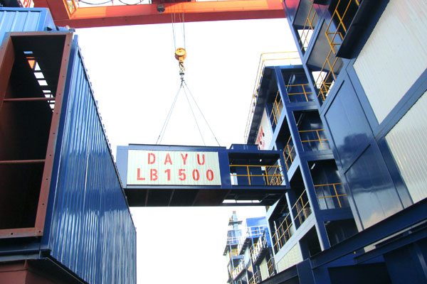 DAYU-LB1500 Asphalt Plant Shipped to Algerian Successfully