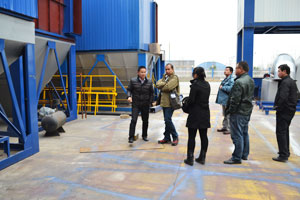 Philippine Customers Visit Our Asphalt Plant Factory