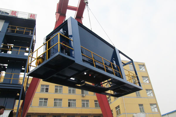 PMT series Batch Mix Asphalt Plant Sent to Pakistan